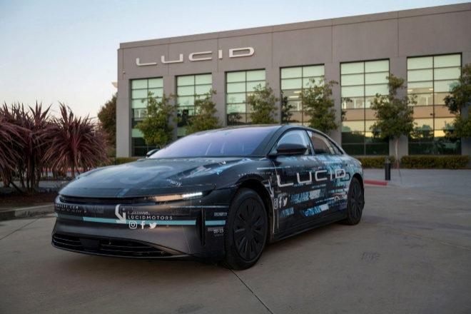 Vehículo eléctrico de la norteamericana Lucid Motor.