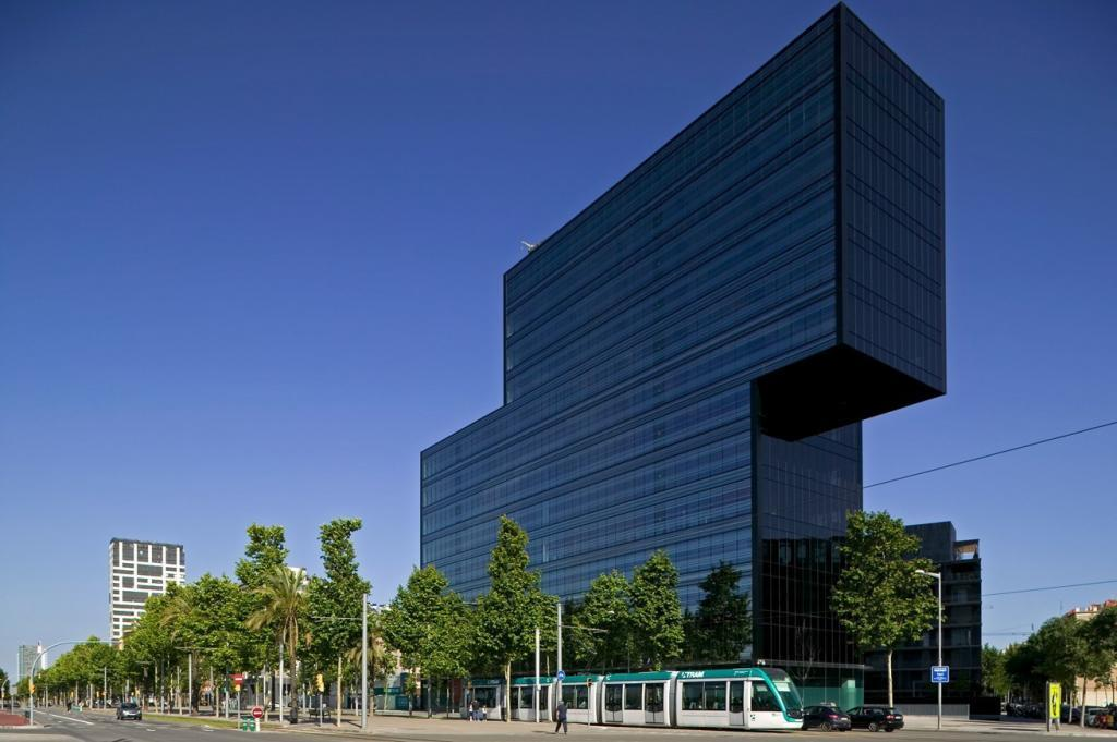 El edificio Diagonal 123 en el 22@ de Barcelona.