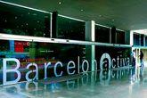 Oficinas de Barcelona Activa junto a la Plaça de les Glòries...