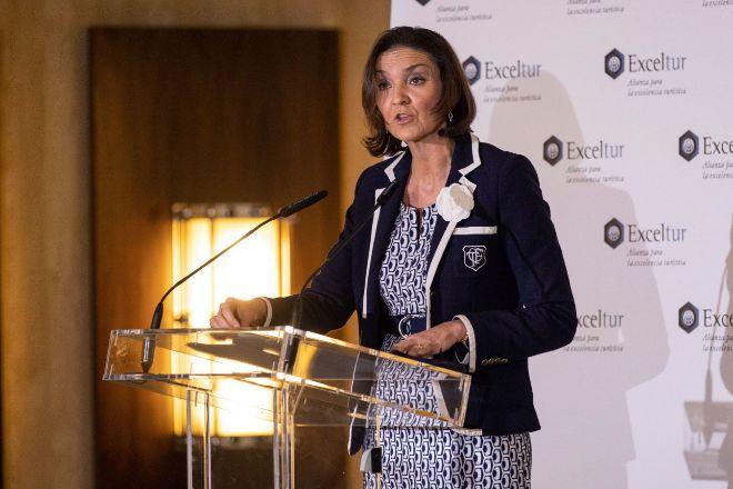 La ministra de Industria, Energía y Turismo Reyes Maroto.