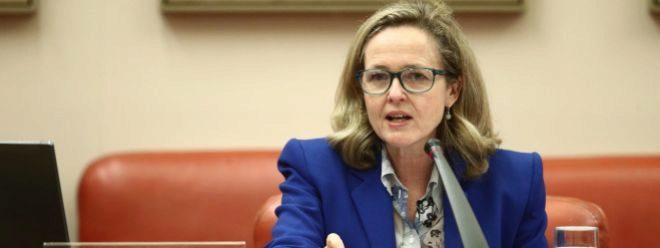 La Vicepresidenta Tercera del Gobierno y Ministra de Asuntos Económicos y Transformación Digital Nadia Calviño.
