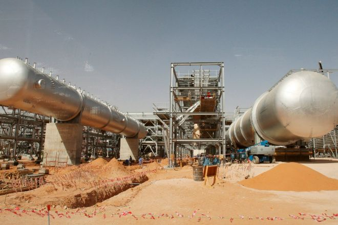 Instalaciones de la petrolera estatal saudí Aramco