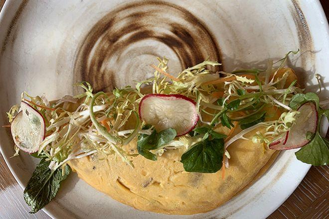 La tortilla que el tres estrellas Michelin Dani García ofrece en su restaurante del hotel Four Seasons.