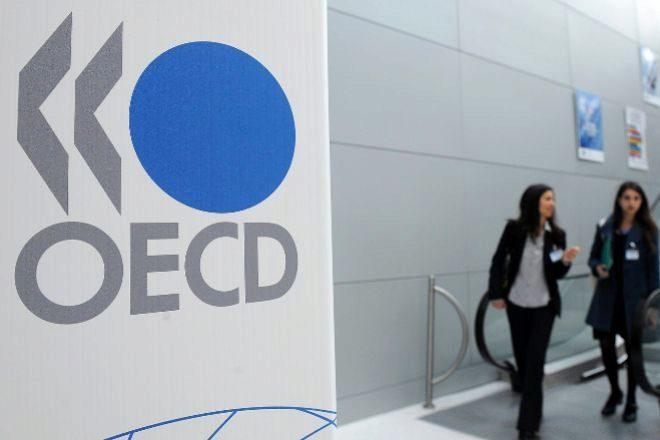 Sede de la OCDE en París, Francia.