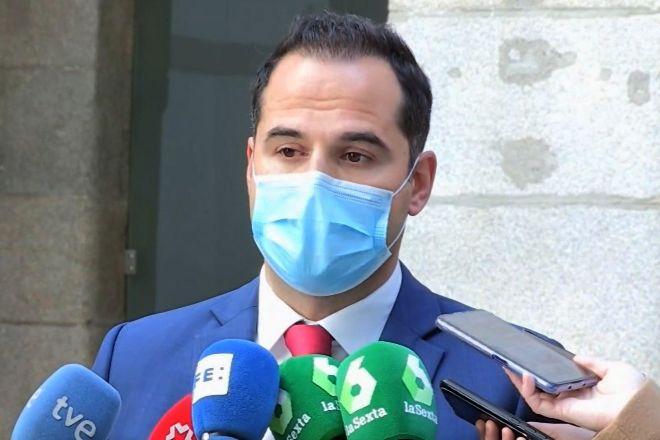 El hasta ayer vicepresidente de la Comunidad de Madrid, Ignacio Aguado, anunciado a los Ayuso había disuelto la Asamblea regional para adelantar elecciones.