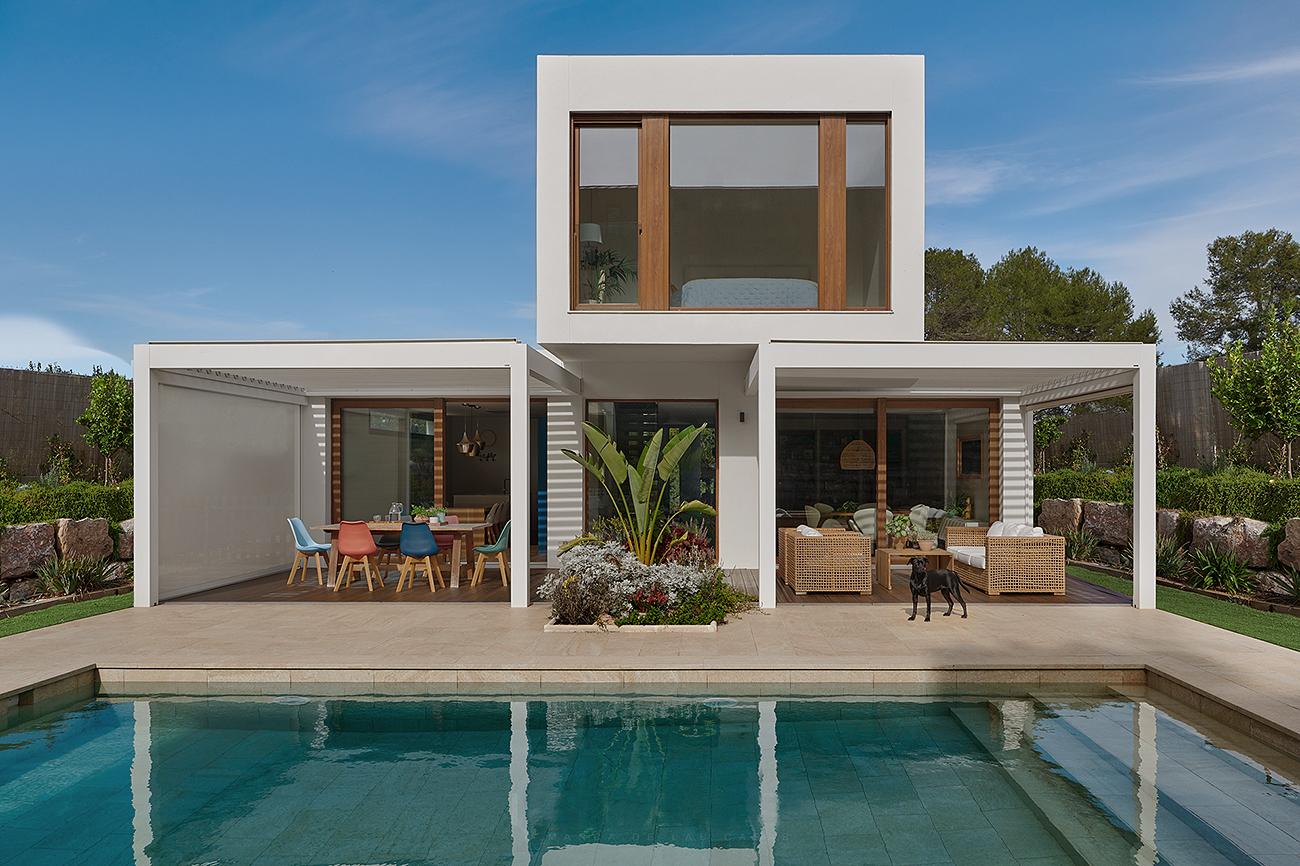 Esta espectacular casa en la provincia de Barcelona partió del modelo...