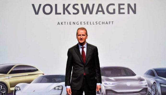 Herbert Diess, consejero delegado de Grupo Volkswagen.