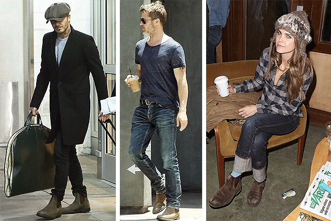 De izqda. a dcha., Brad Pitt, Chris Hemsworth y Keri Rusell.