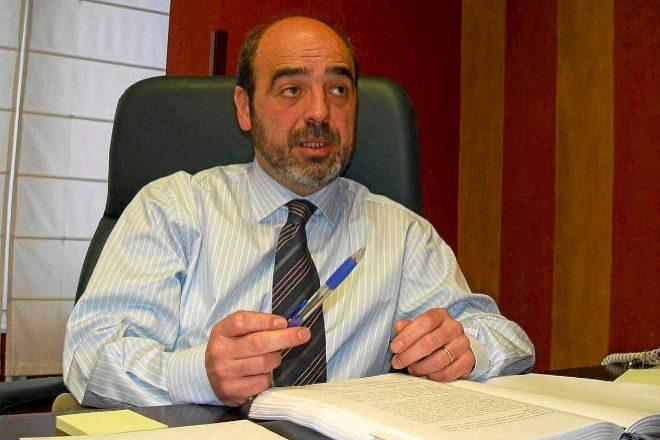 Ignacio Etxebarria es el presidente de la Federación de Epsv de Euskadi.