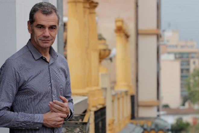 Toni Cantó cuando era diputado de Ciudadanos por Valencia.