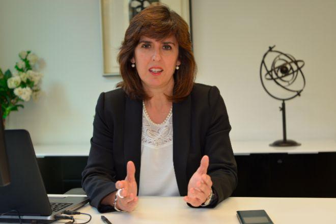 Elena Zárraga es la directora general de LKS Next.