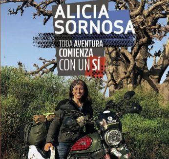 TODA A VENTURA EMPIEZA CON UN 'SÍ'  Autor: Alicia Sornosa Editorial: Anaya Touring Páginas: 200 Precio: 21,75 euros