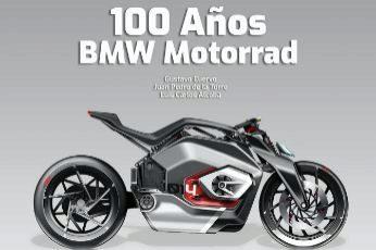 100 AÑOS DE BMW MOTORRAD  Autores: Gustavo Cuervo, Juan Pedro de la Torre y Luis Carlos Alcoba Editorial: Escudería 'Los hierros' Páginas: 316 Precio: 80 euros