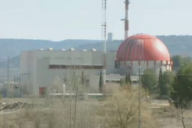 Así desmantelan la que fue primera central nuclear de España