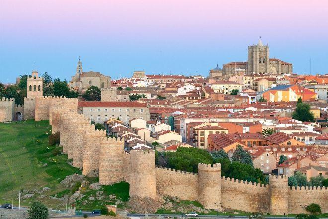 Panorámica de la ciudad de Ávila.