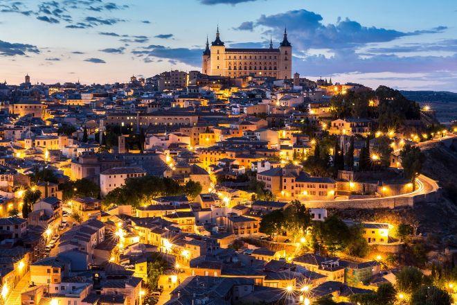 Panorámica de la ciudad de Toledo.