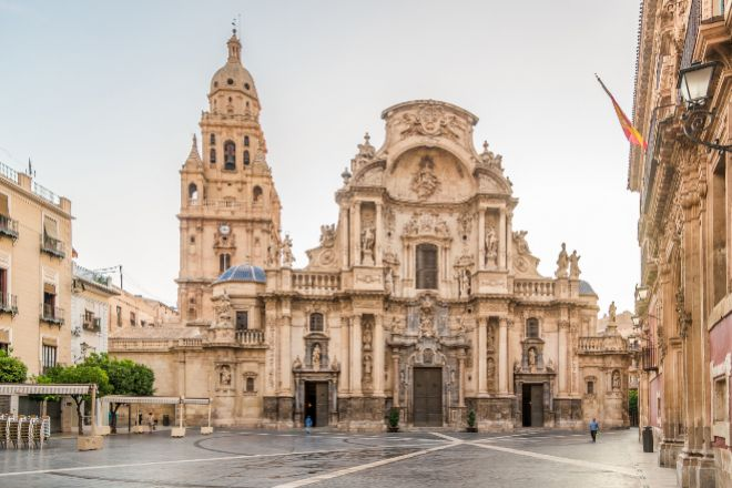 Catedral de Murcia.