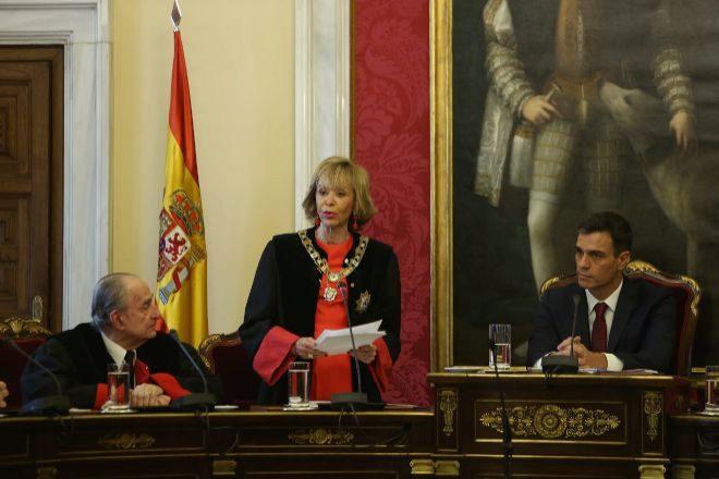 María Teresa Fernández de la Vega preside el Consejo de Estado.