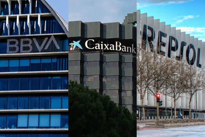 BBVA, CaixaBank y Repsol salvan la tormenta de deuda con emisiones a tipos...
