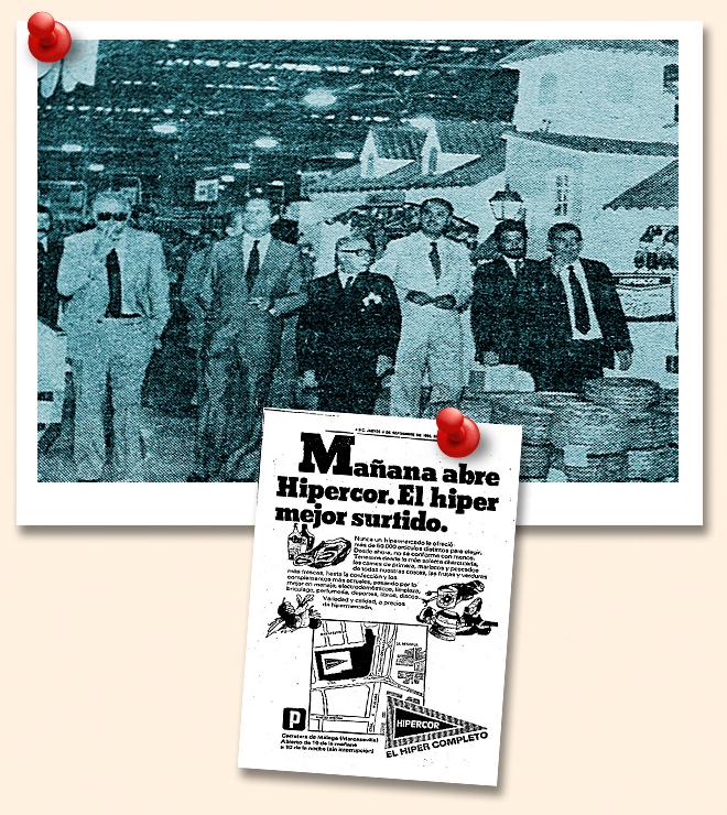 El Corte Inglés. Ramón Areces inauguró en 1980 el primer Hipercor en Sevilla.
