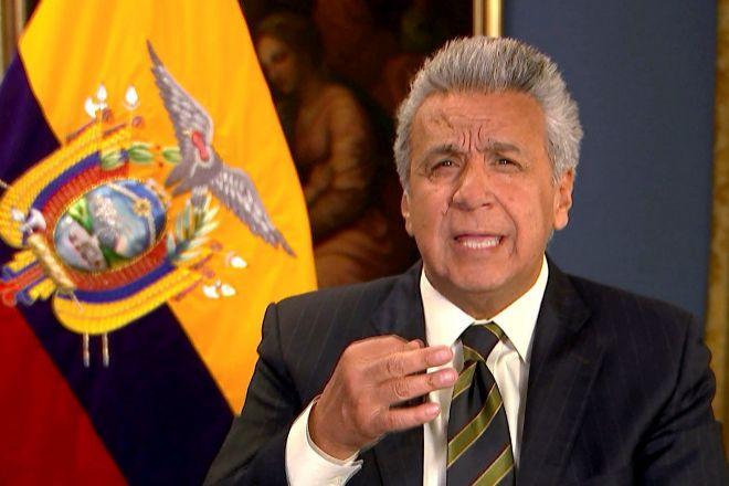 Lenin Moreno, actual presidente de Ecuador.