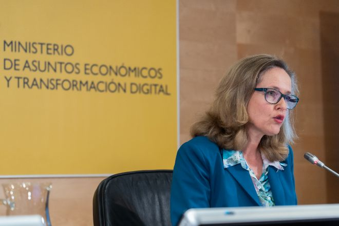 Nadia Calviño, vicepresidenta segunda y ministra de Asuntos Económicos.