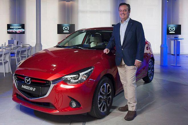 El presidente y consejero delegado de Mazda Automóviles España José María Terol.
