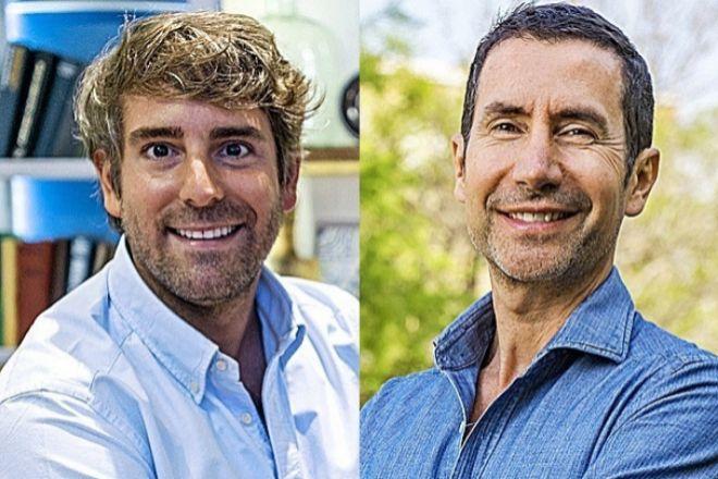 Marcos Alves, hasta ahora el CEO de Iberia y Latinoamérica, y Sérgio Sequeira, su sucesor.