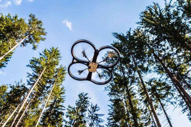Drones para reforestar el planeta en diez años