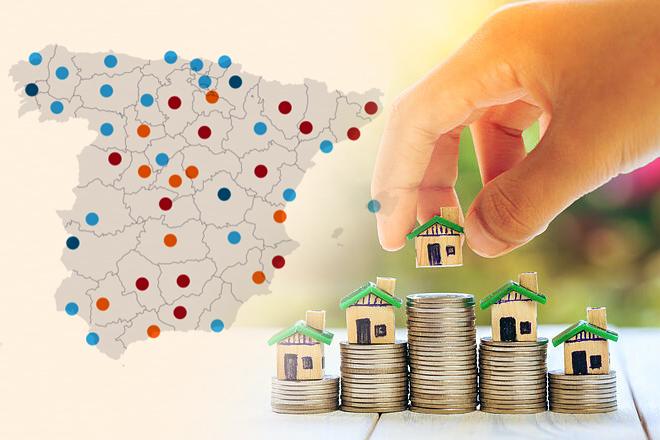 El precio de la vivienda se encarece un 2,9% interanual en marzo: ¿dónde sube y dónde baja?