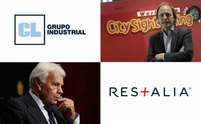 Los Premios PEC de los Empresarios del Sur de España reconocen la labor de Grupo Industrial CL, Enrique Ybarra, Restalia y Felipe González