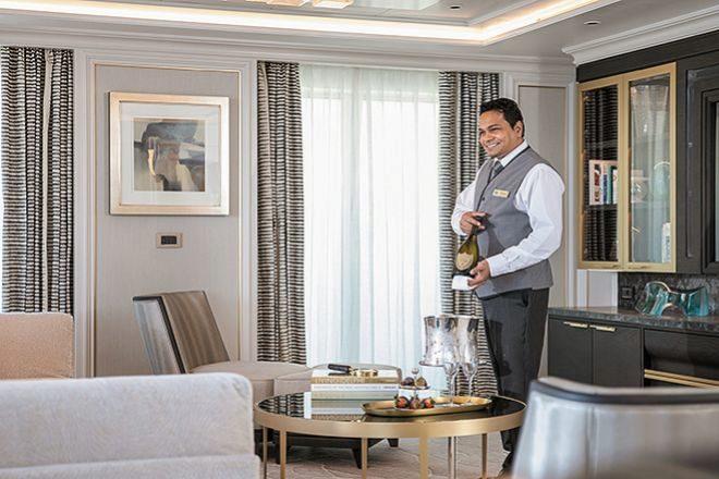 Gastronomía variada y todo tipo de atenciones distinguen la oferta de Regent Seven Seas Cruises.