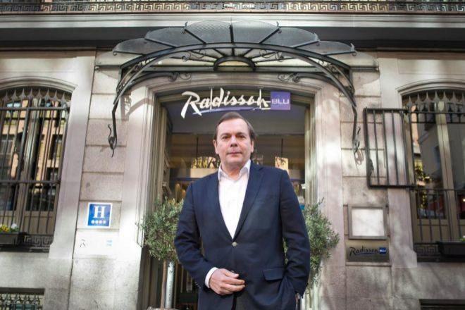 El consejero delegado de Radisson Hotels, Federico González Tejera.