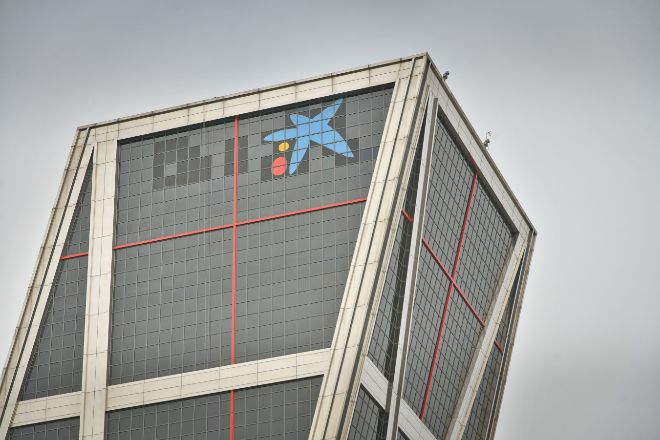 Sede de CaixaBank en Madrid.