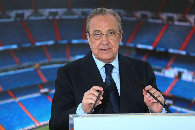 Florentino Pérez, reelegido presidente del Real Madrid hasta 2025 sin oposición