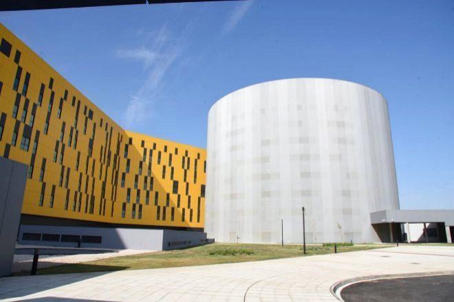 Instalaciones del Nuevo Hospital de Toledo, el mayor de Europa.