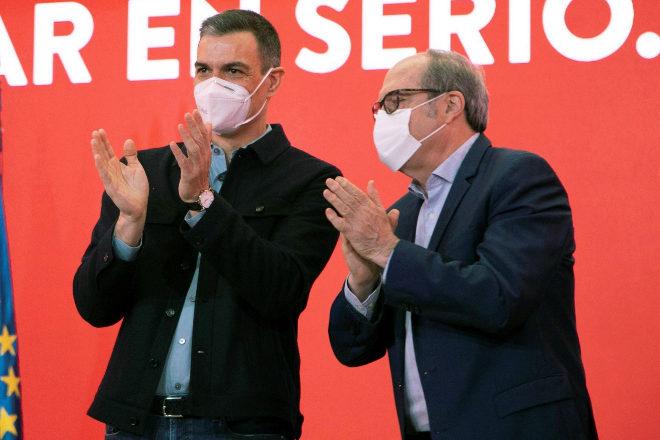 Pedro Sánchez y Ángel Gabilondo.