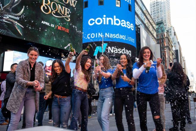 Coinbase sube un 30% en el Nasdaq y dispara las plusvalías de BBVA