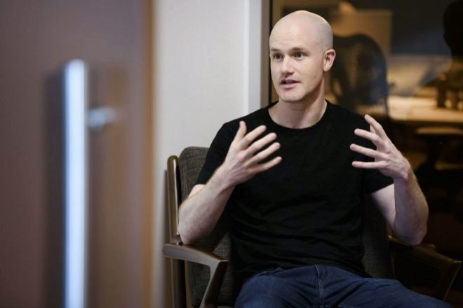 Brian Armstrong, cofundador y consejero delegado de Coinbase.