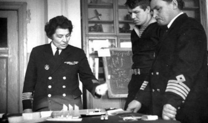 Anna Ivanovna Shchetinina, la primera capitana de la marina mercante