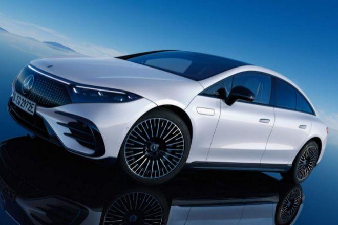 Nuevo Mercedes de la serie EQS.