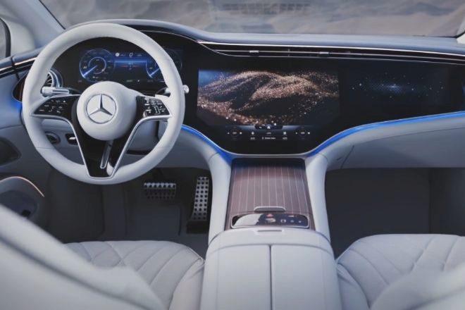 Así es el Mercedes EQS, el coche eléctrico más brutal del momento