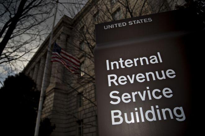 Sede del Servicio de Impuestos Internos de EEUU.