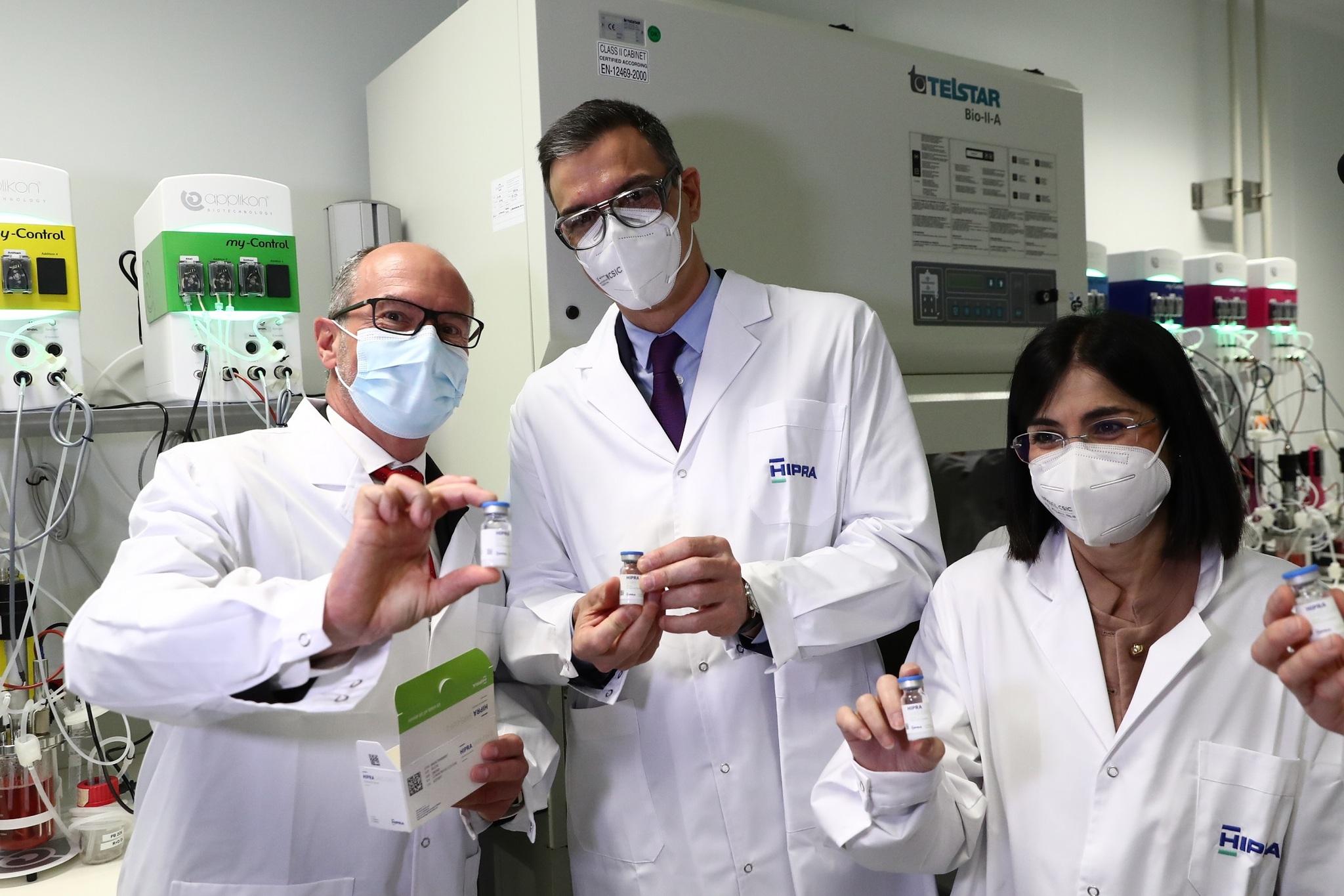 Hipra prevé iniciar en octubre la producción de la primera vacuna española del Covid-19