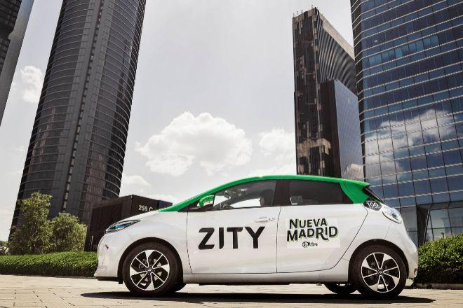Zity, el 'carsharing' de Renault y Ferrovial, se alía con Bankinter para ofrecer servicios financieros