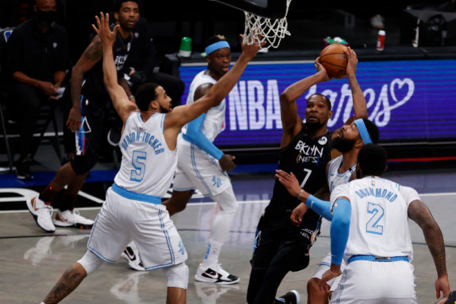 La estrella de los Brooklyn Nets, Kevin Durant.