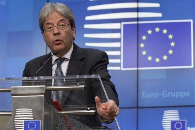 El comisario económico, Paolo Gentiloni.