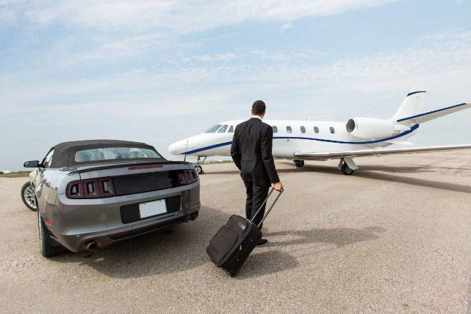 El gasto medio de las empresas de la lista 'Fortune 100' en 'jets' privados subió un 9% el pasado ejercicio.