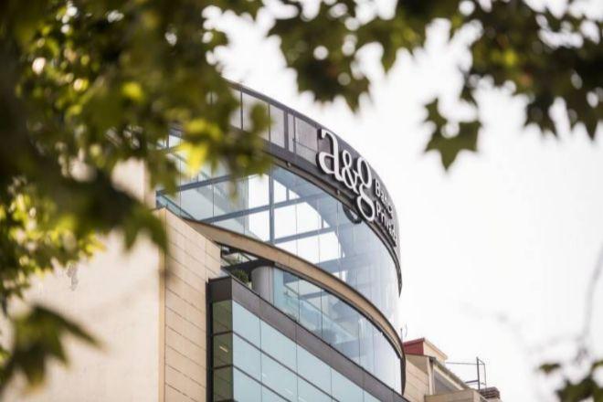 Sede de A&G Banca Privada en Madrid