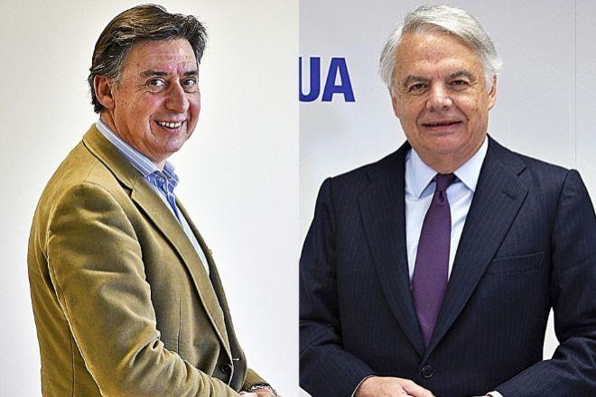 Miguel Ángel Merino, CEO de Línea Directa, y Ignacio Garralda, presidente de Mutua Madrileña.